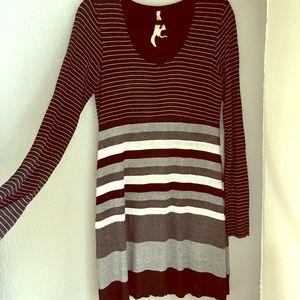 Bailey Long Sleeve - Soft Slinky Dress